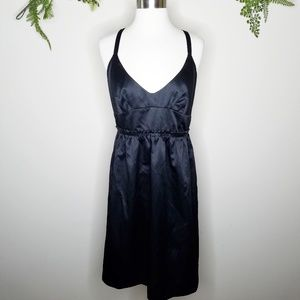 French Connection sleeveless v-neck black dress